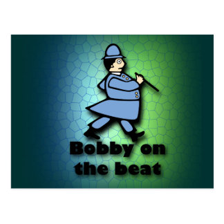 Bobby on the Beat Postcard