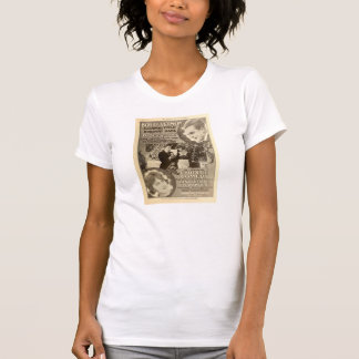 Bobby Vernon 1918 film exhibitor ad Eleanor Field T Shirt