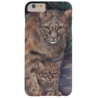 Bobcat  and Kitten Barely There iPhone 6 Plus Case