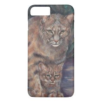 Bobcat  and Kitten iPhone 7 Plus Case