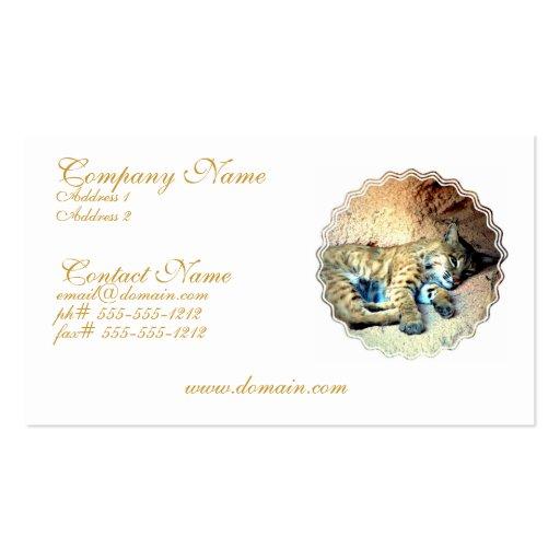 Bobcat Business Card