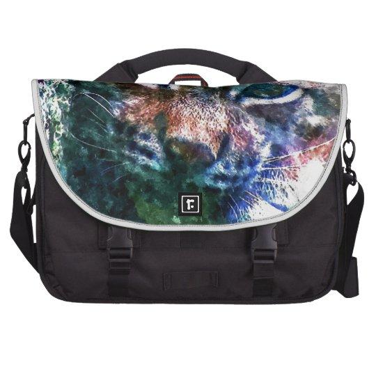 BOBCAT - LYNX - LYNX - digital Artwork Laptop Shoulder Bag