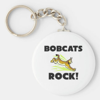 Bobcats Rock Key Ring