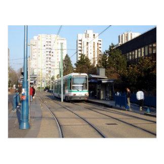 bobigny - t1 station pablo-picasso 03 postcard