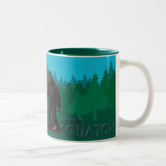 Bobo Meets Squatch Two-Tone Coffee Mug