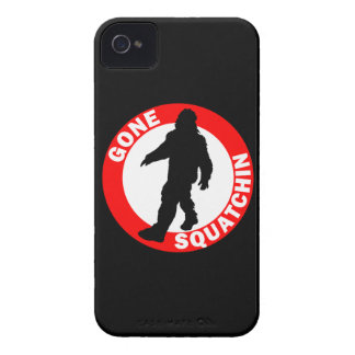 Bobo s GONE SQUATCHIN Case-Mate iPhone 4 Cases