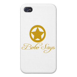 Bobo Says Entire Line iPhone 4 Cover