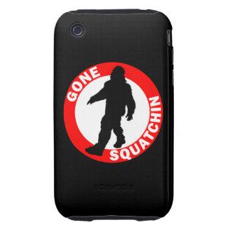 Bobo's GONE SQUATCHIN iPhone 3 Tough Covers