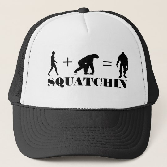 **** Bobo's GONE SQUATCHIN Trucker Hat