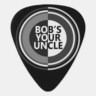 Bob's your uncle. guitar pick