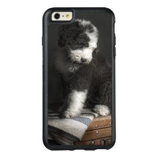 Bobtail puppy portrait in studio OtterBox iPhone 6/6s plus case