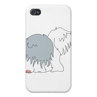 Bobtail Sheepdog Cover For iPhone 4