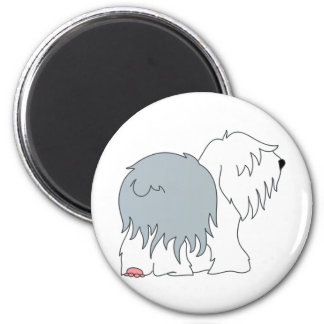 Bobtail Sheepdog Magnet