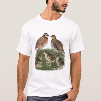 Bobwhite Quail Family T-Shirt