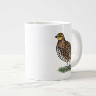 Bobwhite Quail Hen Extra Large Mugs