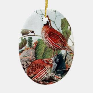 Bobwhite Quail Ornament