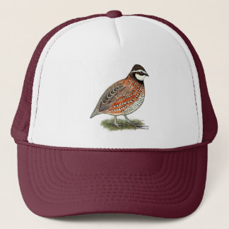 Bobwhite Quail Rooster Trucker Hat