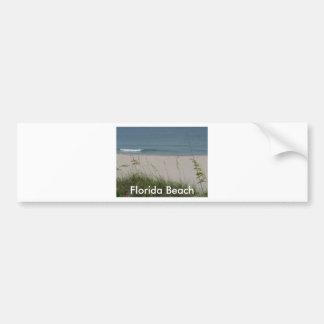 Boca Beach Bumper Sticker