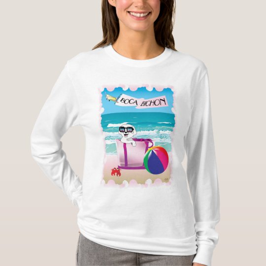 Boca Bichon: Women's Sleeved T-Shirt
