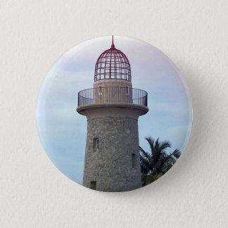 Boca Chita Lighthouse 6 Cm Round Badge