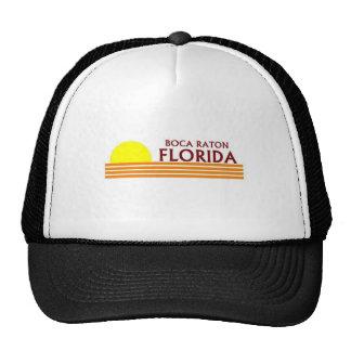 Boca Raton, Florida Mesh Hat
