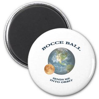 Bocce Ball Orbit 6 Cm Round Magnet