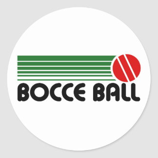 Bocce Ball Stickers