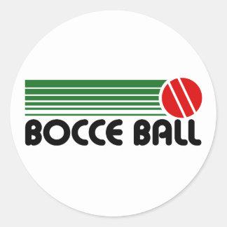 Bocce Ball Round Sticker