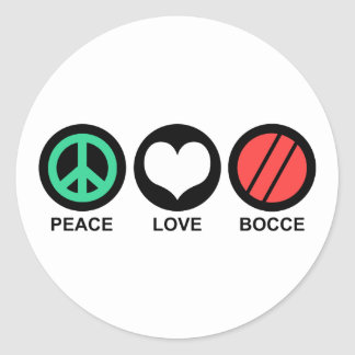 Bocce Stickers