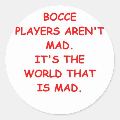 bocce sticker