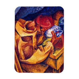 Boccioni: The Drinker Rectangular Photo Magnet