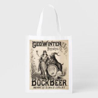 Bock Beer Brewing Co. Vintage Retro Cool