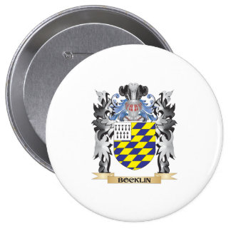 Bocklin Coat of Arms - Family Crest 10 Cm Round Badge