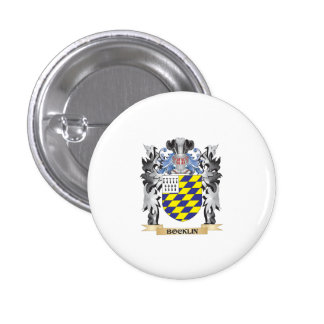 Bocklin Coat of Arms - Family Crest 3 Cm Round Badge