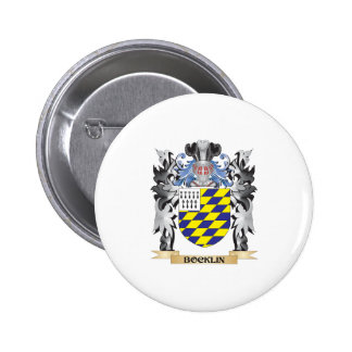 Bocklin Coat of Arms - Family Crest 6 Cm Round Badge