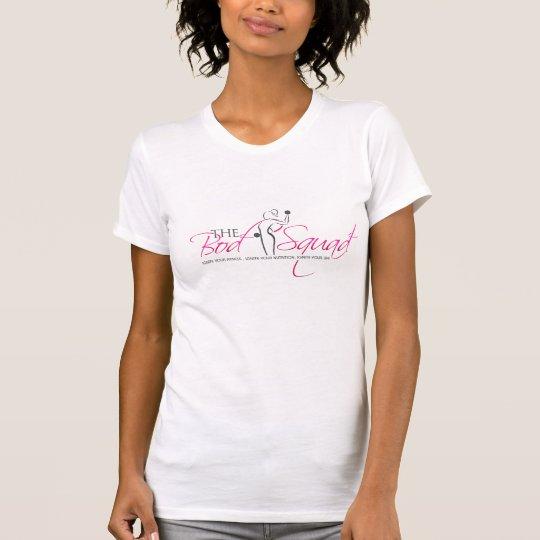 Bod Squad Fitness - White S T-Shirt