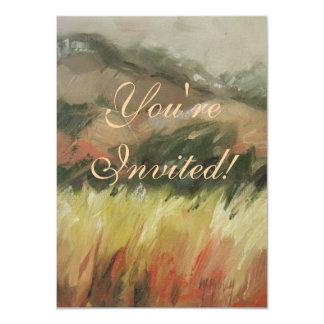 Bodega Bay California mountain landscape 11 Cm X 16 Cm Invitation Card