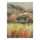 Bodega Bay California mountain landscape 4.5x6.25 Paper Invitation Card