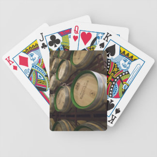 Bodega Marques de Riscal winery, wine cellar Bicycle Playing Cards