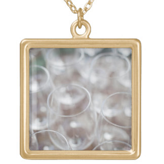 Bodega Marques de Riscal winery, wine tasting 2 Gold Plated Necklace