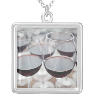 Bodega Marques de Riscal winery, wine tasting 3 Silver Plated Necklace