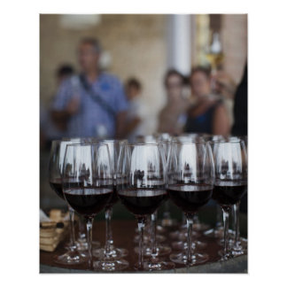 Bodega Marques de Riscal winery, wine tasting Poster