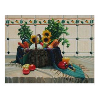 bodegon con girasoles 24x30 postcard