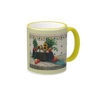 bodegon con girasoles 24x30 ringer mug