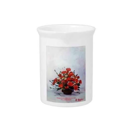 Bodegón of flowers/Still life of flowers Pitcher