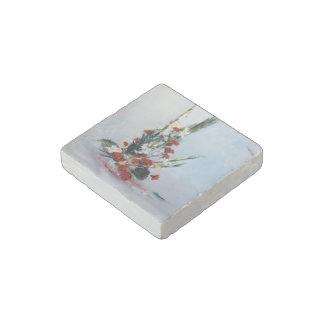 Bodegón of flowers/Still life of flowers Stone Magnet