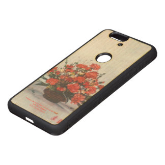 Bodegón of flowers/Still life of flowers Wood Nexus 6P Case