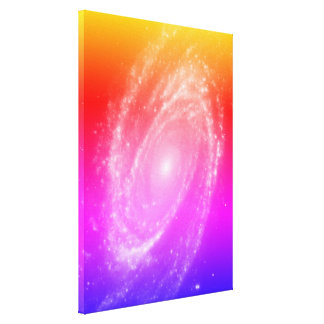 Bode's Galaxy colorful Canvas Print