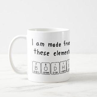 Bodhi periodic table name mug