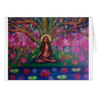 Bodhi Tree Meditation card